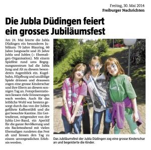 Jubiläumsfest FN 2014.05.30